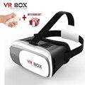 Google caixa de papelão vr 2 ii 2.0 vr óculos 3d óculos/Óculos de Realidade Virtual VR Headset Para Smartphones + Bluetooth controlador