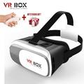 Google cardboard VR BOX 2 II 2.0 VR Glasses 3D Glasses / Virtual Reality Glasses VR Headset For Smartphone +Bluetooth Controller
