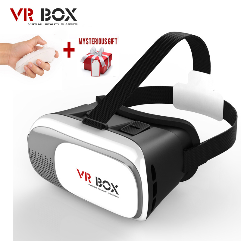 Google cardboard <font><b>VR</b></font> <font><b>BOX</b></font> 2 II <font><b>2.0</b></font> <font><b>VR</b></font> <font><b>Glasses</b></font> 3D <font><b>Glasses</b></font> / <font><b>Virtual</b></font> <font><b>Reality</b></font> <font><b>Glasses</b></font> <font><b>VR</b></font> Headset For Smartphone +Bluetooth Controller