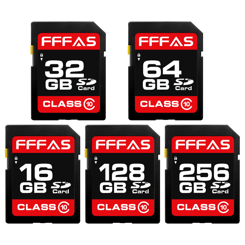Fashion sd card 8GB 16GB 32GB carte micro sd Flash usb Memory Card 64GB 128GB SD CARD for table PC camera(China)