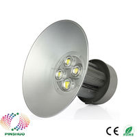 4PCS AC85 265V Warranty 3 Years Brigdelux Chip Thick Housing 200W LED High Bay LED Light Industrial Lamp E40