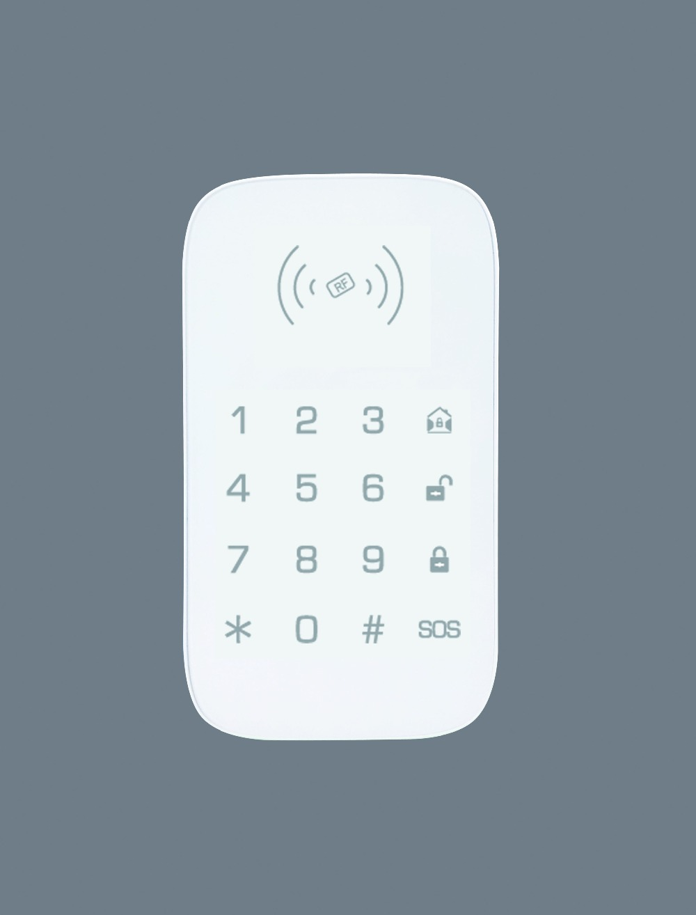 alarme com 2 pcs rfid tag rfid 02