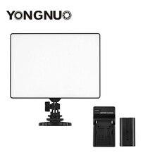 YONGNUO YN300 YN-300 Air светодиодный Камера видео 3200 K-5500 K с NP-F550 декодированная батарея + Зарядное устройство для Canon Nikon и видеокамера