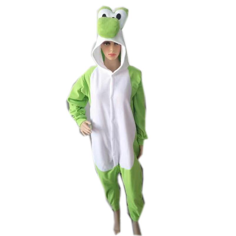 Mario Yoshi Teddy Dog Chicken Onesie Anime Cosplay Costume Fleece Adults Halloween Carnival Masquerade Party Homewear Clothing