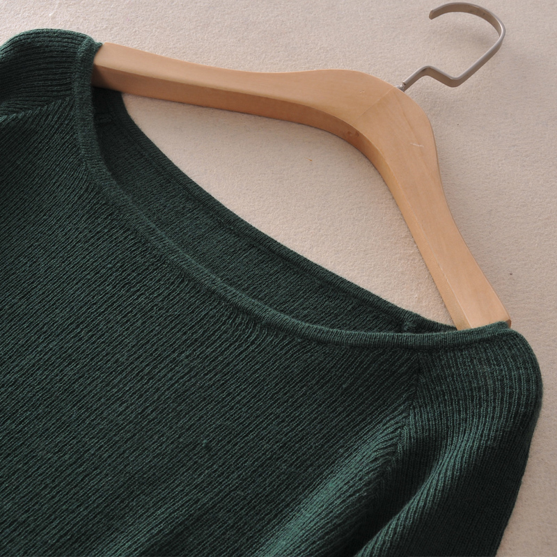 adohon 2018 womens musim dingin Wanita Set sweater Kasmir dan celana - Pakaian Wanita - Foto 3