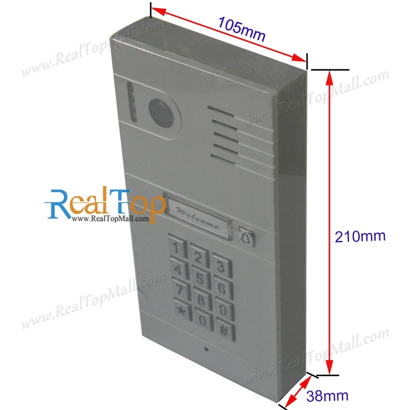 Wireless WiFi IP Video Doorphone Metal Waterproof HD Camera Video Doorbell Intercom System Camera