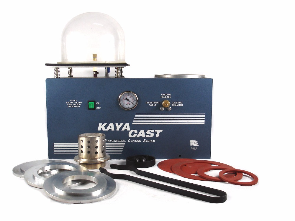 Free Shipping Jewelry KAYA Casting Machine for Jewelry Gold Casting Equipment HH CM01