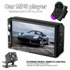 7 Inch HD 2 Din Bluetooth Car MP5 Player Stereo Audio FM Radio Touch Screen Support