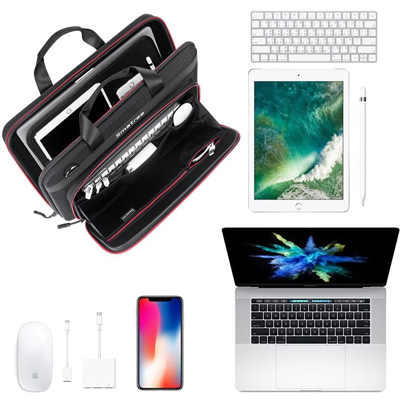 все цены на Smatree Handbag For Apple Macbook Pro15 inch Carry Case For iPad Pro Iphone X/8/7 For Apple Pen