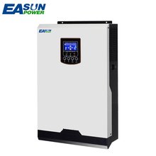 EASUN POWER Solar Inverter 220V 2400W 60A MPPT Pure Sine Wave Inverter 3Kva Off Grid Inverter 24V 50Hz Inverter 60A AC Charger