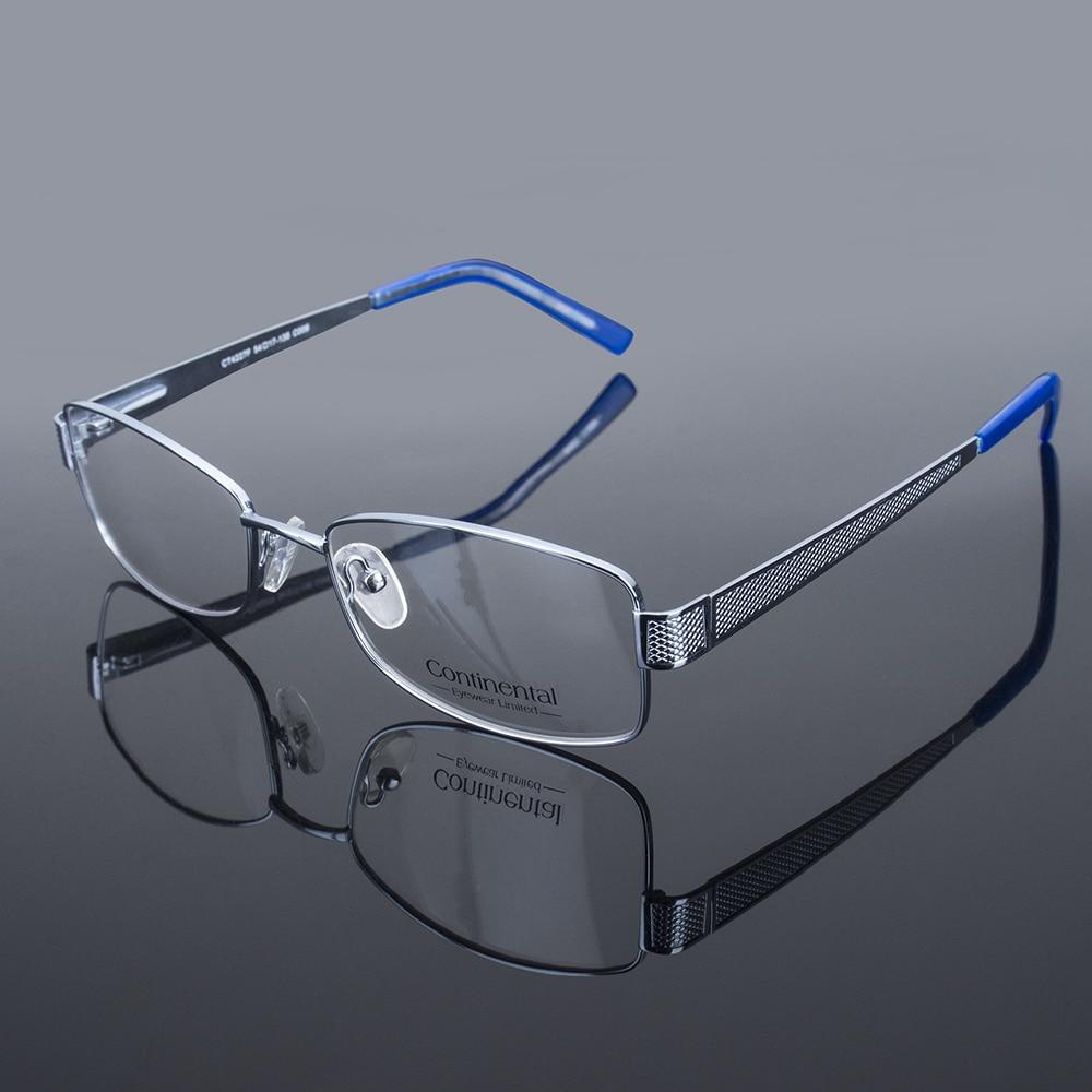 Usine Direct classique populaire en acier inoxydable monture lunettes hommes optique lunettes cadre CT4227F
