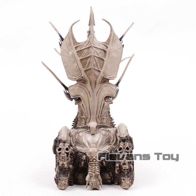 все цены на NECA Diorama Element Predator Clan Leader Bone Throne PVC Figure Collectible Model Toy онлайн