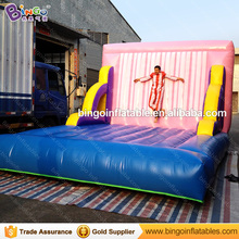 Funny Inflatable Sticky Wall jumping game/inflatable bouncer/jumper for outdoor carnival/events