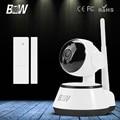 BW IR Sem Fio Wi-fi de Rede CCTV Câmera IP P2P Onvif Indoor HD 720 P 3.6mm Endoscópio para IOS & Android & Pad APP com Porta Sensor de