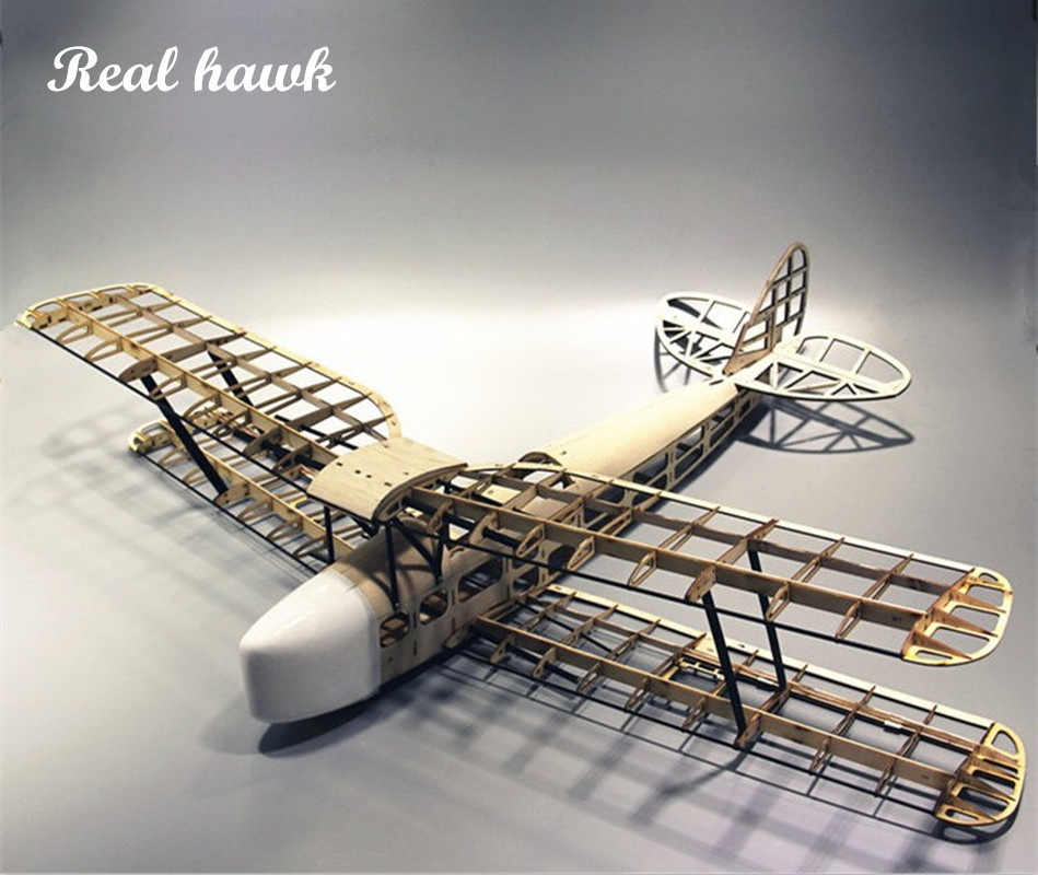 RC Plane Laser Cut Balsa Wood Airplane  Kit TigerMoth DH-82 Frame Without Cover Wingspan 1000mm  Model Building Kit