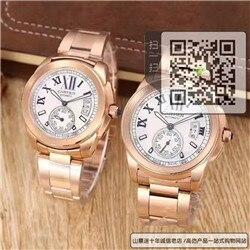 高仿卡地亚CALIBRE DE CARTIER 系列对表  高仿W7100018手表☼