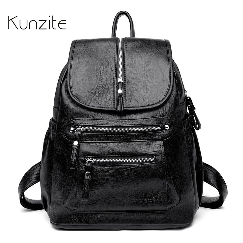 Backpack Bags for Women 2019 Luxury Famous Brands Knapsack Female Casual Daily Daybag Large Capacity Rucksack Bags Work UseBag-in Backpacks from Luggage & Bags    1