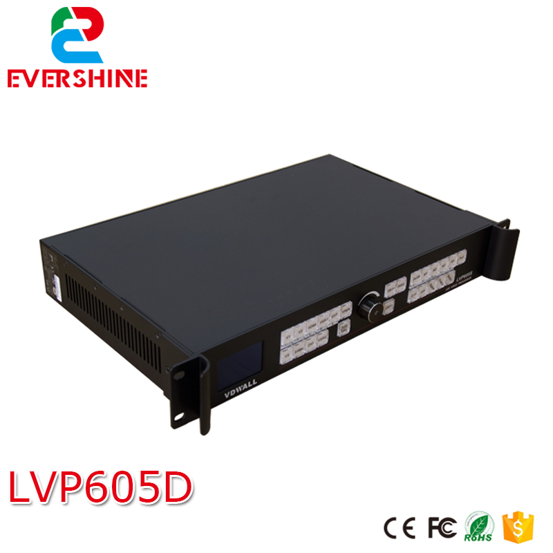 VDWALL LVP605D LED Display VIDEO Wall Processor with VGA/DVI/HDMI for P10, P16, P2.5, P3, P3.91, P4.81, P5