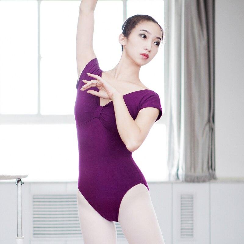New Ballet Leotards For Women Lady Cotton Gymnastics Leotard Dance Practice Clothes Adult Ballet Leotard Ballet Costumes DN1813