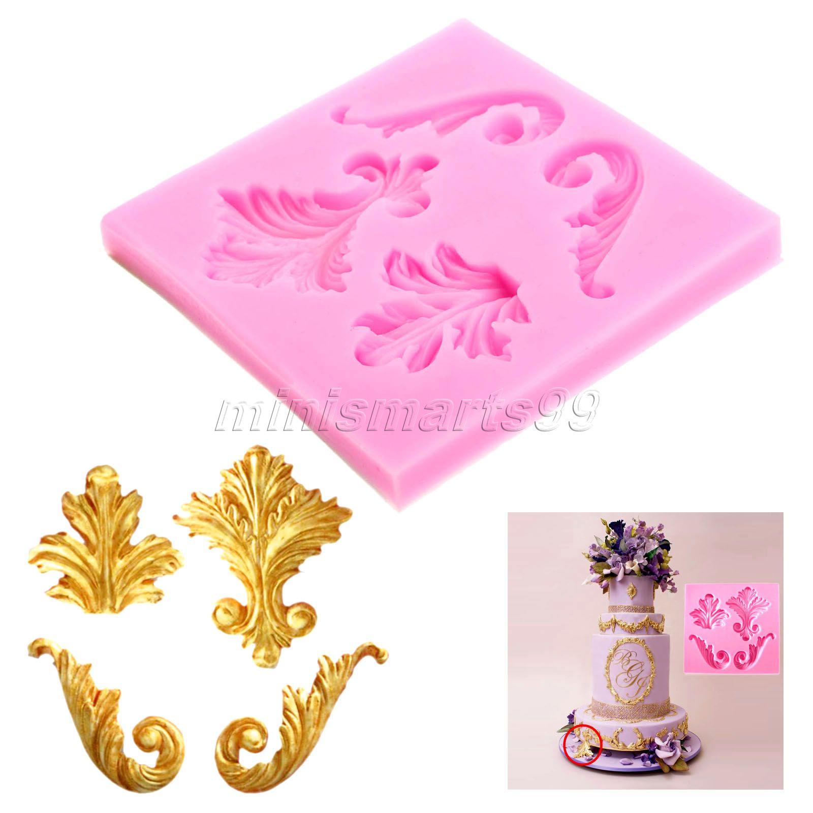 Silicone Moulds Fondant Cake Decorating Tools Sugarcraft Cupcake Confeitaria Kitchen Accessories Stampi In Silicone Soap Mold