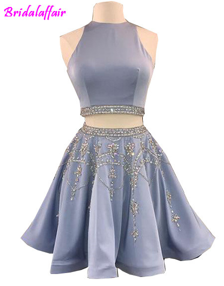 2018 sleeveless Above knee   prom     dress   evening   dress   formal   dress   women elegant gown robe de soiree e de soiree robe 2018   dress