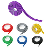 90CM 2X115 Dots Nimuno Loops Blocks Toy Adhesive Plastic Tape Kids Adults DIY Building Blocks Base