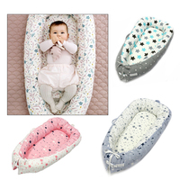 Snuggle Pod Baby Bassinet Baby Snuggle Nest Cotton 0 2 Years Old Sleep Travel Baby Portable Bassinet Bedroom Bumper Home Decor