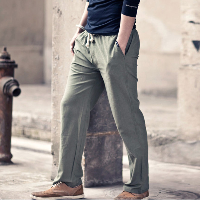 Compare Prices on Mens Drawstring Linen Pants- Online Shopping/Buy ...