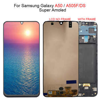 Super Amoled For Samsung galaxy A50 A505F/DS A505F A505FD A505A LCD Display Touch Screen Digitizer Assembly For Samsung A505 lcd - DISCOUNT ITEM  10% OFF All Category