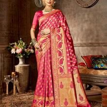 Traditional Indian sari Embroidered Saris Include tops skirt