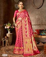 Traditional Indian sari Embroidered Saris Include tops skirt Indian dress Sarees