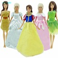 """Fairy Tale Princess Costume Dress For Snow White Cinderella Pocahontas etc. Clothes For Barbie FR 11.5"""" 12"""" Doll Accessories Toy"""