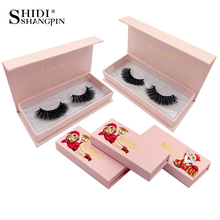 1 pair/box thick 3d mink lashes false eyelashes natural long lashes handmade eye lashes extension makeups maquillaje faux cils