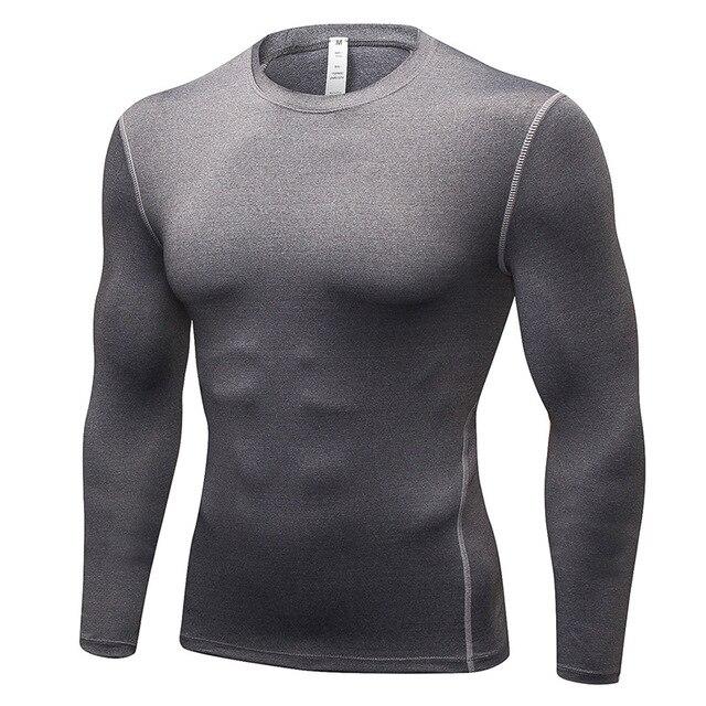 e86aa61b181e 2018 NEW Trendy Summer Men T Shirt Casual Long Sleeve Slim Men s Basic Tops  Tees Stretch T-shirt Mens Clothing Chemise Homme