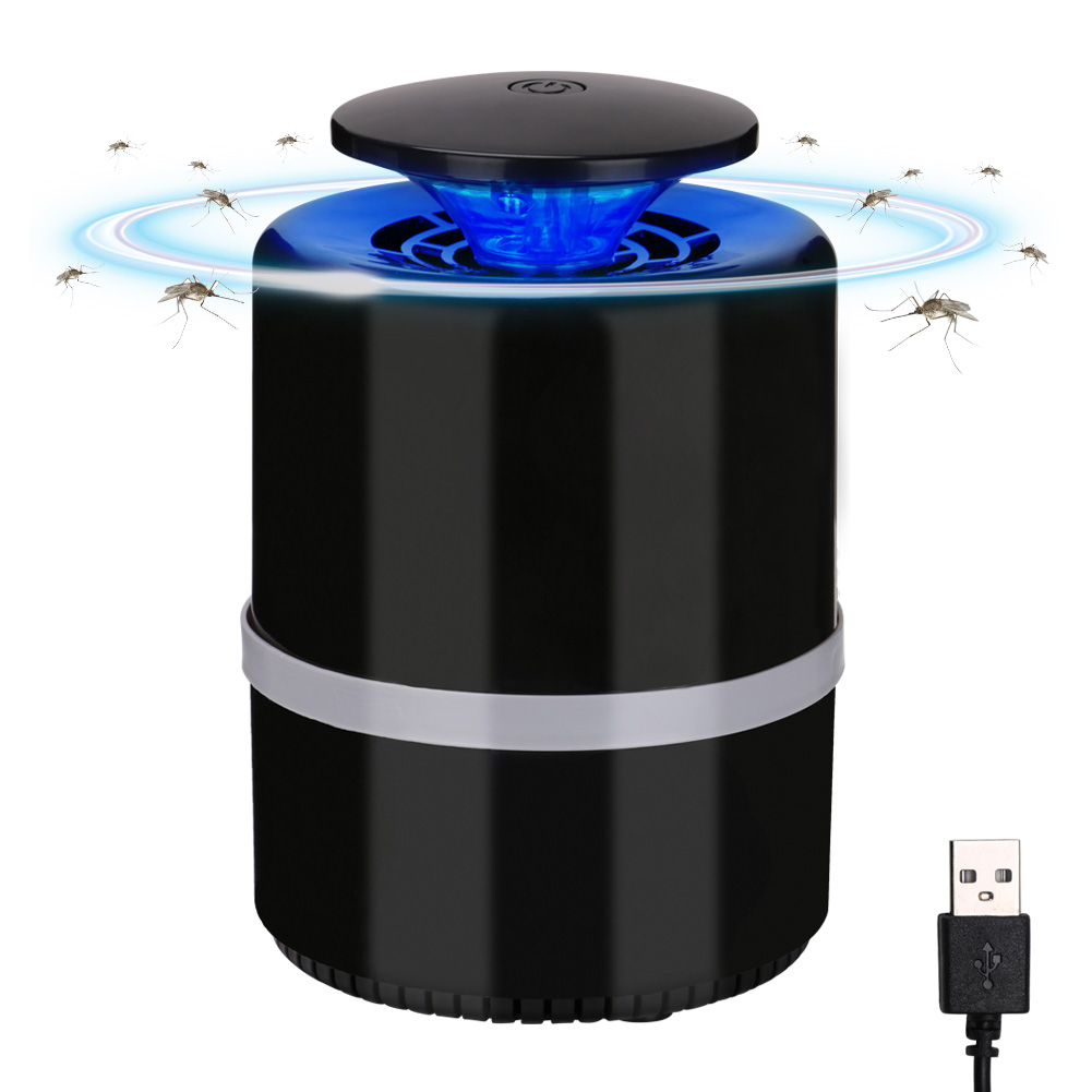 Novelty Lighting DC 5V USB Power Electric Mosquito Killer Lamp Anti Insect Trap Killer Lamp Home Living Room Mosquito Control
