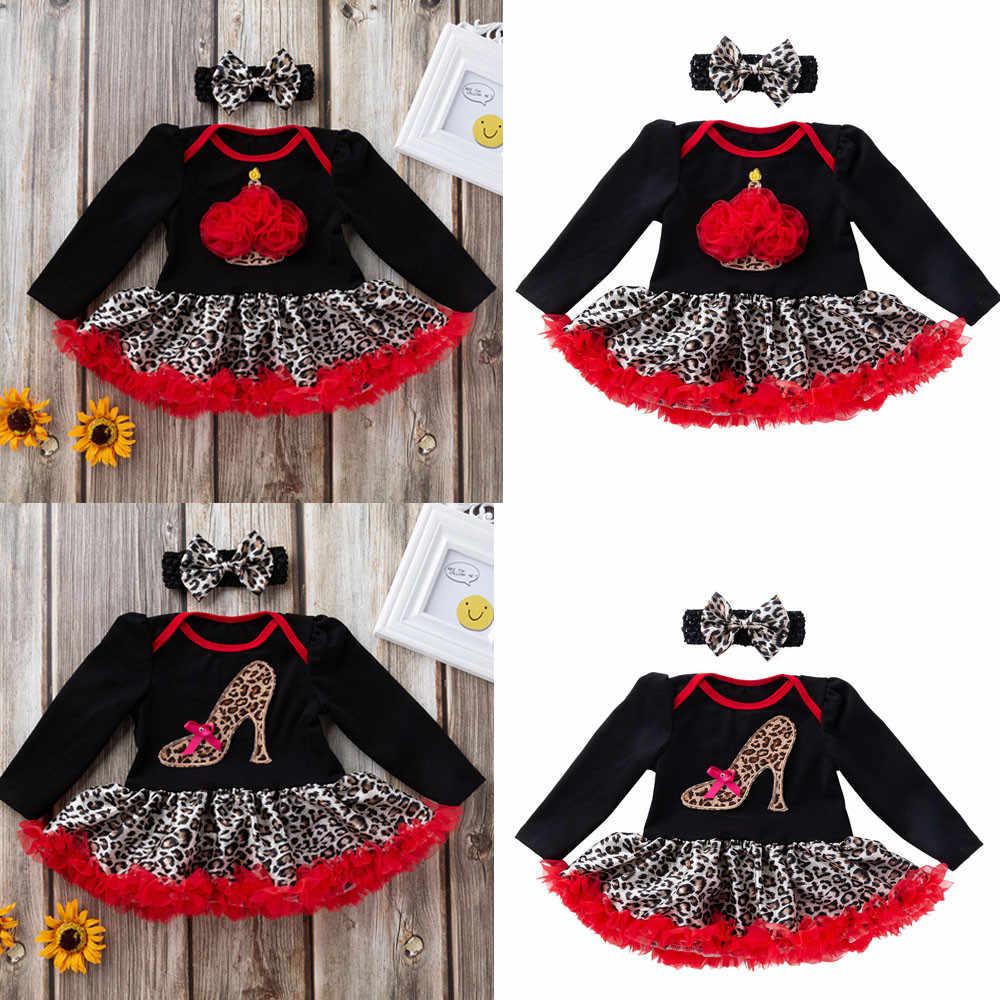 Лидер продаж; Модный комбинезон для детей; одежда для детей; хлопковое платье с круглым вырезом и принтом; пачка + наряды для волос