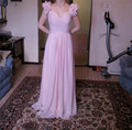 Elegant Women Dress for Wedding Party 2016 Abiti Cerimonia Donna Damigella Cap Sleeve Long Bridesmaid Dresses