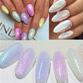Mermaid Effect Glitter Nail Art Powder Dust Magic Glimmer Trend Irridescent