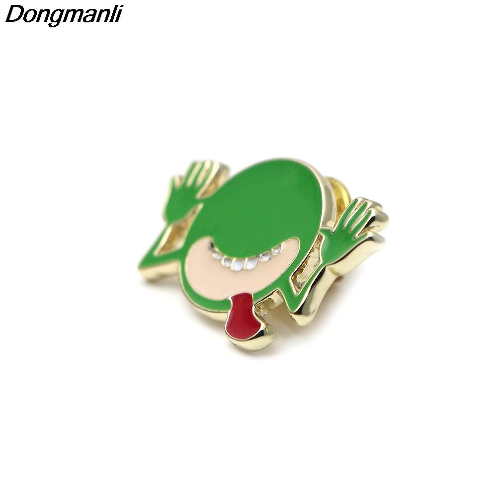 P2369 Dongmanli 20 шт./лот оптовая продажа Автостопом по Галактике металл, эмаль pin брошь значок ювелирные изделия