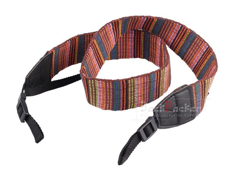 10pcs DSLR Camera Strap Vintage stripes Camera Shoulder Strap for Nikon for Canon for Sony