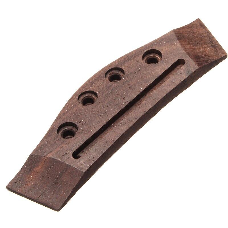 23/26 Pulgadas Rosewood Acústica Ukelele Ukulele Puente de La Guitarra de piezas