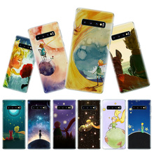 Lovely the Little Prince fox Phone Case for Samsung Galaxy S10 Plus S10E Lite A50 A70 A30 A10 A20E M20 M10 A20 A80 A40 Cover