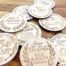 Save the date magnets,Wooden magnets,Rustic Wood etched - Vines Designs, wedding favors magnets, wedding invitations, wood gifts
