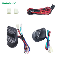 1set New Universal 12V 24V 3pcs Buttons Car Power Window Switches With Holder Wire Harness CA3938