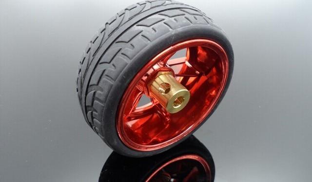 DC motor tire wheel coupling combination of intelligent robots DIY ...