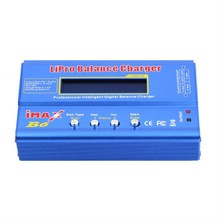 iMax RC Charger B6 80W Balance Charger Discharger For RC Helicopter for NIMH/NICD Aircraft BUILD POWER