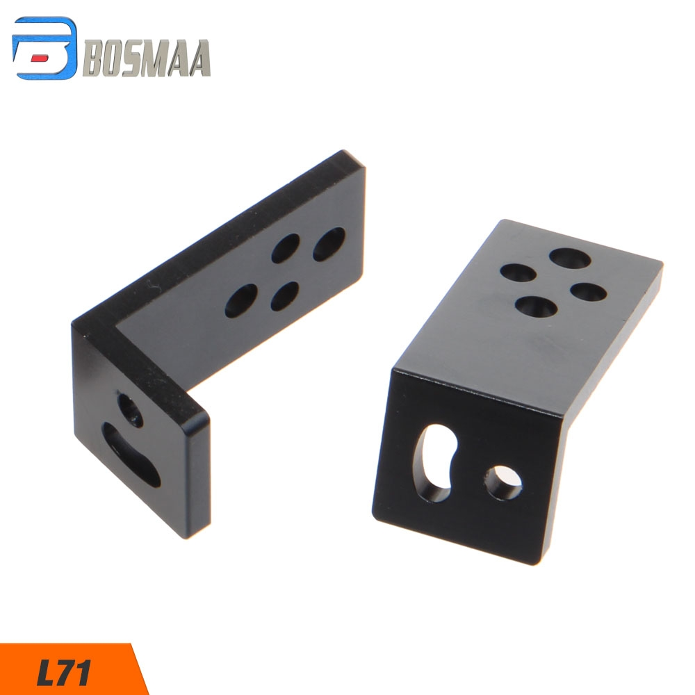 BOSMAA L70/L71 Universal LED Headlight Expansion Mounting Bracket For Car Motorcycle Driving Hunting Spotlight Holder Clamp