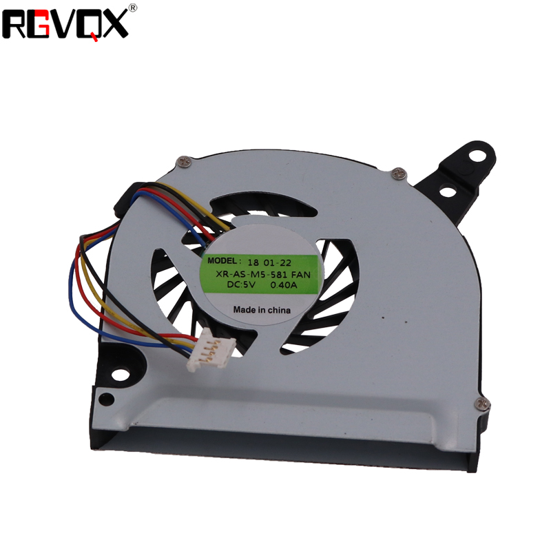 Купить с кэшбэком New Laptop Cooling Fan For Acer aspire M5-581G PN: GB0506AGV1-A CPU Cooler Radiator