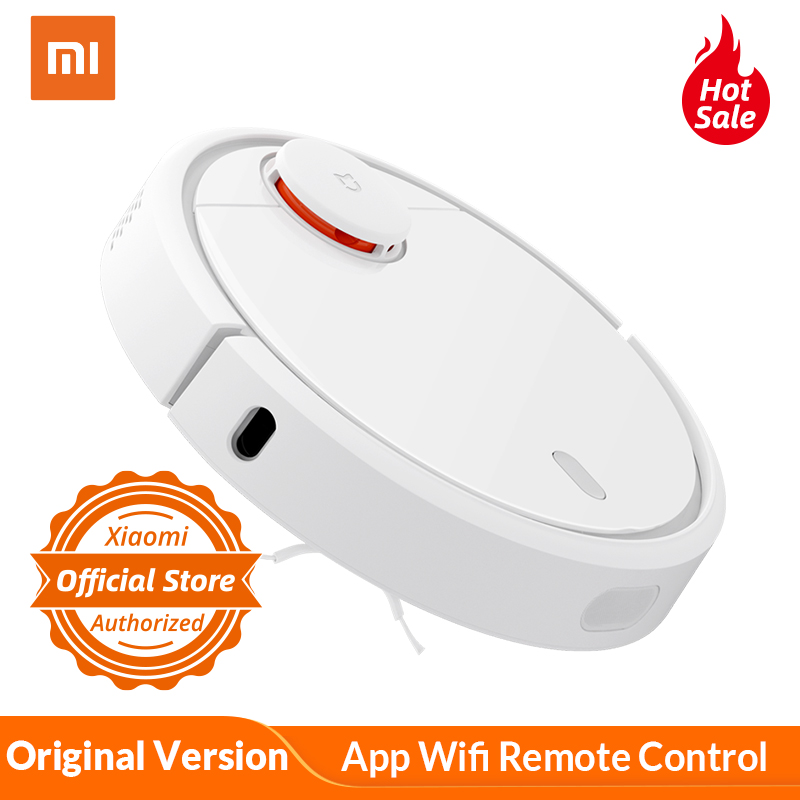 Xiaomi Mi Robot Vacuum Cleaner Smart Home Automatic Robot Cleaner App Wifi Remote Control For Household Dust Cleaning Machine
