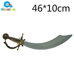 Toy Swords Party-Props Halloween-Costume Foam Simulation-Pirates Cosplay Kid Plastic